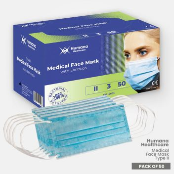 Medical Face Mask Type II by Humana Healthcare